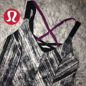 rare lululemon athletic top